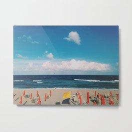 Life's a beach Metal Print