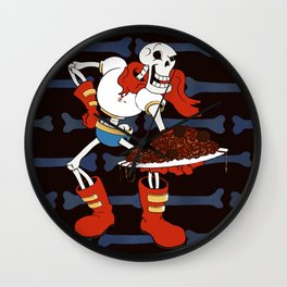 Papyrus and his Spaghetti Wall Clock