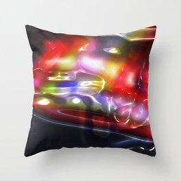 Vicious Bubblicious Throw Pillow