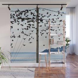 Birds in Flight Wall Mural