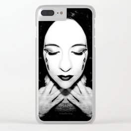 Remembrance of fears Clear iPhone Case