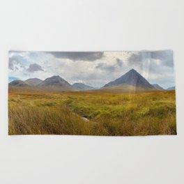 Glencoe, Scottish Highlands Beach Towel