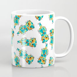 Synchronized Otters - Swim - 57 Montgomery Ave Coffee Mug
