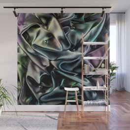 Holographic Narwhal Dark Wall Mural