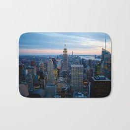 New York City Dusk Bath Mat
