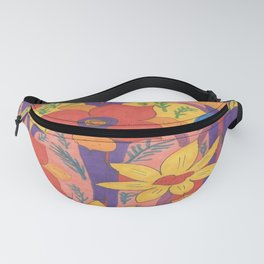 Sunshine and Wildflowers Fanny Pack