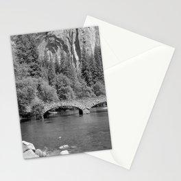 Ahwanee Bridge Yosemite Stationery Cards
