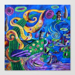 Imaginaria Canvas Print