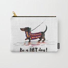 Hot Dachshund dog Carry-All Pouch