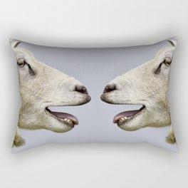 Sheep Bleat Communication Rectangular Pillow
