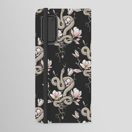 Magnolia and Serpent Android Wallet Case