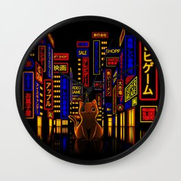 Tokyo Adventure Wall Clock