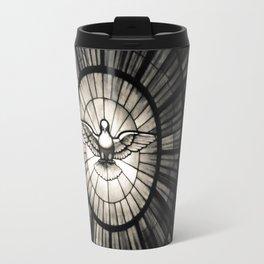 The Holy Spirit as a dove Travel Mug