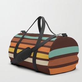 Wanderlust Retro Stripes Duffle Bag