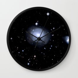 Distant galaxies. Wall Clock