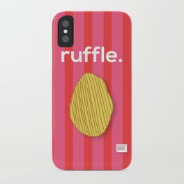Ruffle iPhone Case