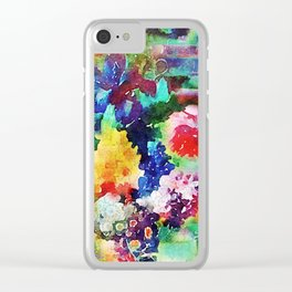 Tracy Porter / Poetic Wanderlust: I Am Enough Clear iPhone Case