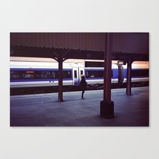 The sign Canvas Print