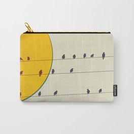 Birds and wires 2 Carry-All Pouch