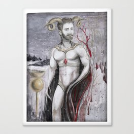 Re_Cuerdos de Allí Canvas Print