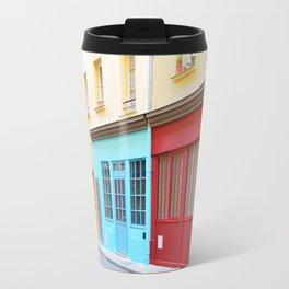 17. Colored Alsace Lorraine, Paris Travel Mug