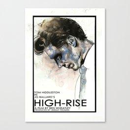 Tom Hiddleston in High-Rise Canvas Print
