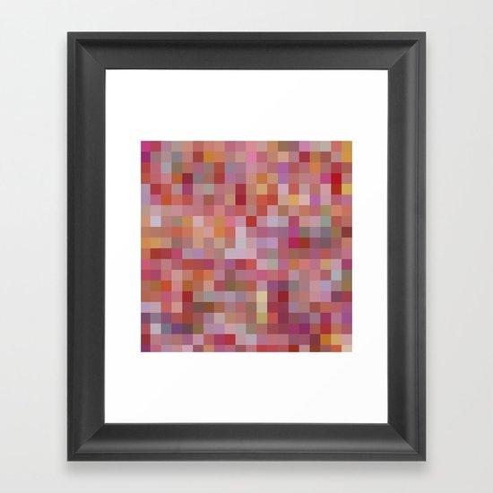 Raspberry Sorbet Framed Art Print