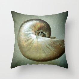 Nautilus L Throw Pillow