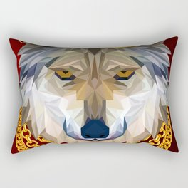 The King of Wolves Rectangular Pillow