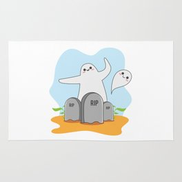 The Happy Ghost Rug