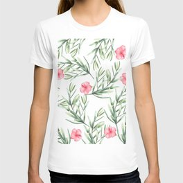 Delicate Hibiscus T-shirt