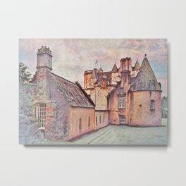 Castle Fraser Metal Print