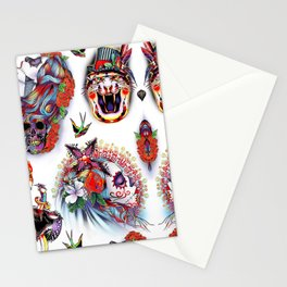 TATTOO FLASH no 6 Stationery Cards