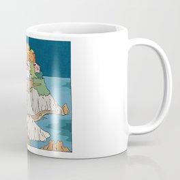 Cinque Terre Italy by Night  Coffee Mug