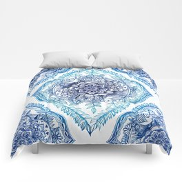 Indian Ink - in Blues Comforters
