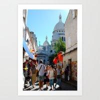 Monmartre Art Print