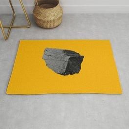Yellow Boulder Rug