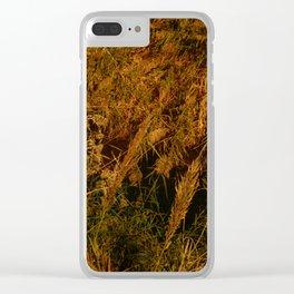 romantic texture vintage Clear iPhone Case