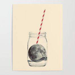 Moon cocktail Poster