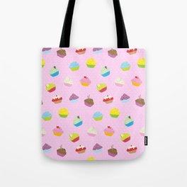 Cupcakes - pink Tote Bag