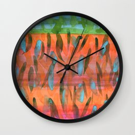 Celebrating a Wonderful Day Wall Clock