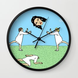 Catch Kim Kardashian's Giant Head Wall Clock