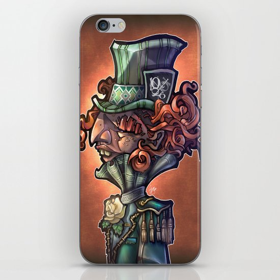 Mad Hatter iPhone & iPod Skin