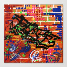 """PEACE"" Canvas Print"
