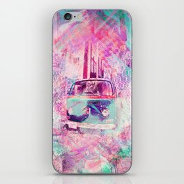 E_Wagon Dreams aka Hippies' Favorite Commuter iPhone Skin