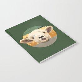 Sweet Lamb in the Barnyard Notebook