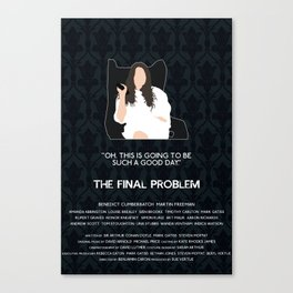 The Final Problem - Eurus Holmes Canvas Print