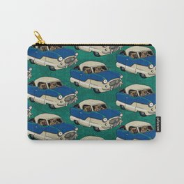 Wolverines in Their Nash Metropolitian - Pattern Carry-All Pouch
