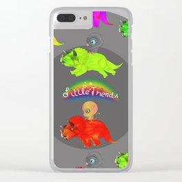 Little Friends JURASSIC Clear iPhone Case