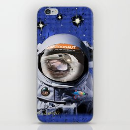 Astronaut Food iPhone Skin